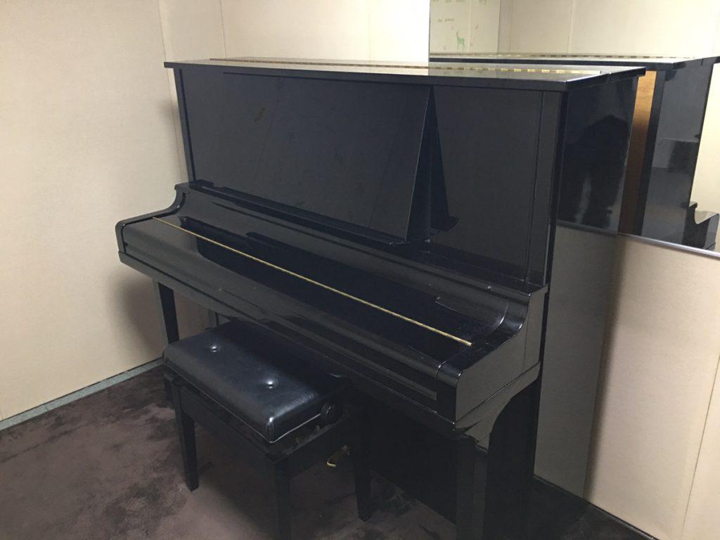 防音室Bのピアノをグレードアップしました!