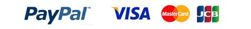 ペイパルでクレジットカード決済可能