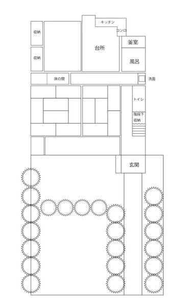 昭和区古民家図面